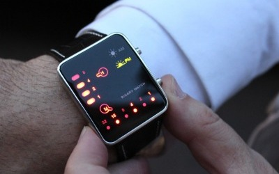 LED Watch Binary