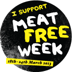 Meat Free Week challenge