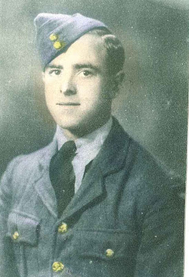 My grandpa in his RAF uniform