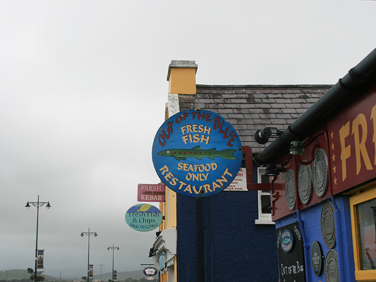 fish restaurant in dingle