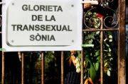 GLORIETA DE LA TRANSSEXUAL SÒNIA