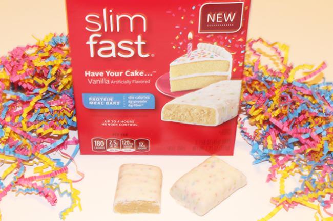 slimfast meal bars
