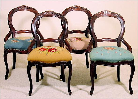 Balloon Back Chairs7