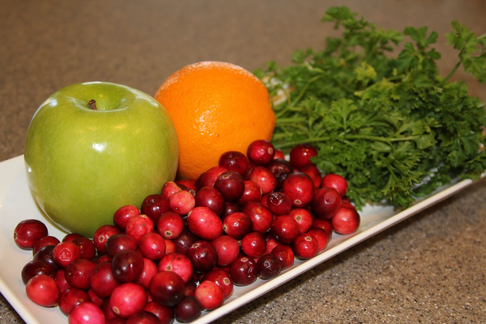 Fresh Cranberry Apple Relish - Cooking With Ruthie