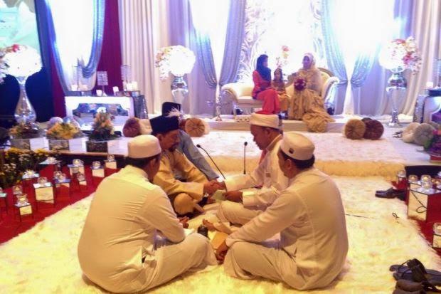 Gambar Majlis Nikah A Rahman Hassan Dan Fadillah Mansor 25-12-2014