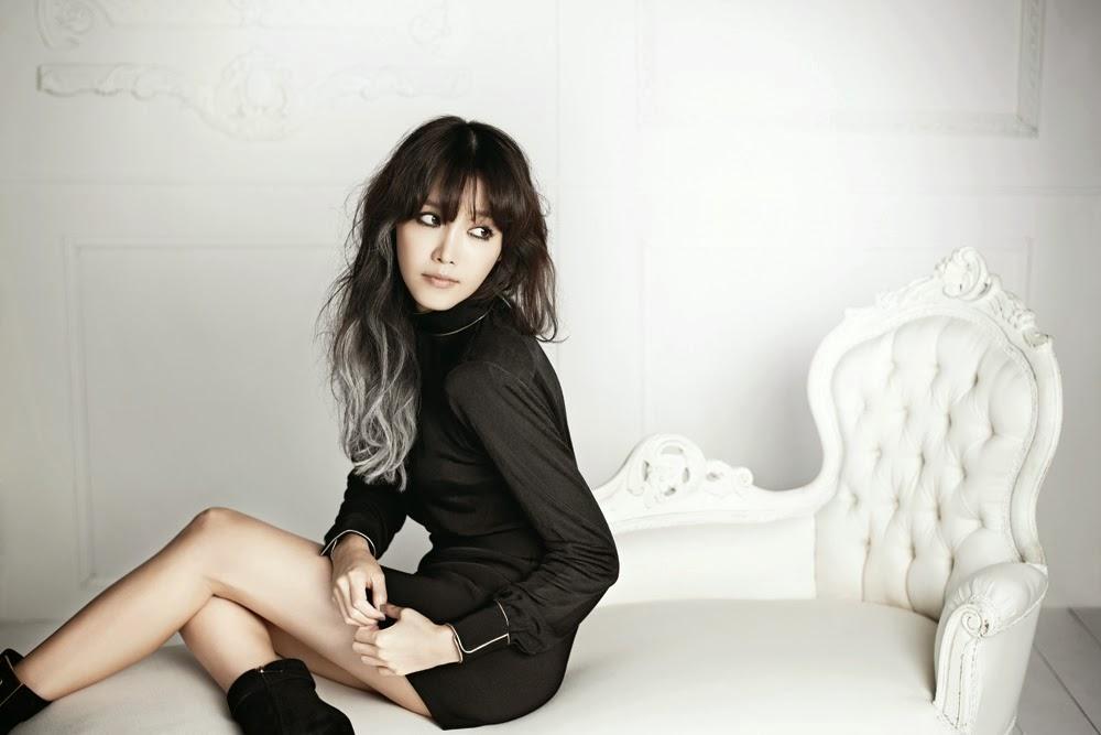 Chae Jung Ahn - Harper's Bazaar November 2013