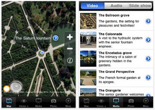 Versailles Gardens iPhone App enables visitors to discover the Versailles Gardens onsite or remotely