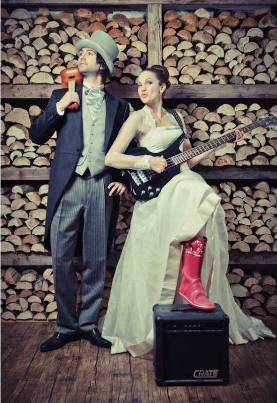 Matrimonio Tema Rock : Funky wedding un matrimonio a tema rock n roll