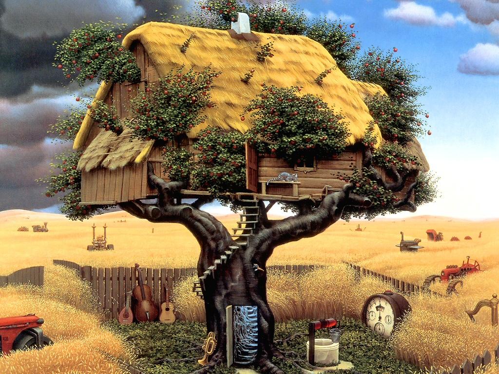 Rêver d'une maison dans les arbres