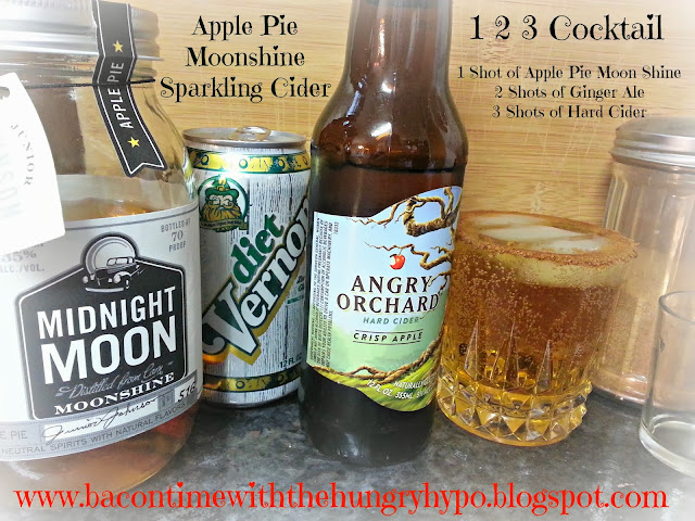 apple pie moonshine sparkling cider aka 1 2 3 cocktail