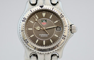 TAG HEUER 200 METERS PROFESSIONAL MIDSIZE S99.213 STAINLESS STEEL WATCH!!!