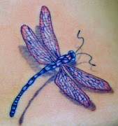 Cool and Beautiful 3D Dragonfly Tattoo. Dragonfly is the beautiful little . (dragonfly tattoo tattoosphotogallery)