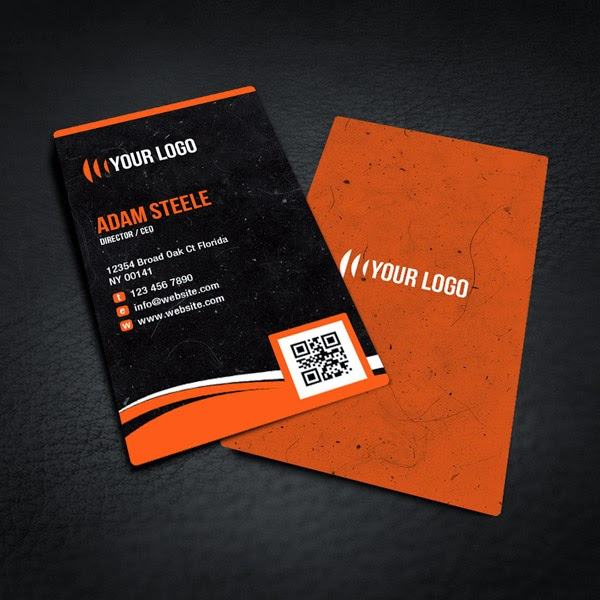Free Rounded Corner Business Card PSD
