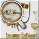 AWESOME CHEF AWARD
