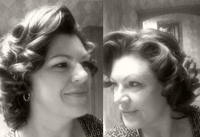Retro Gran 1950 decade of hairstyles