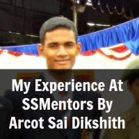 My Experience At SSMentors By Arcot Sai Dikshith