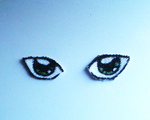 The Amigurumi Girl: Making (And Attaching) Manga Eyes For ...