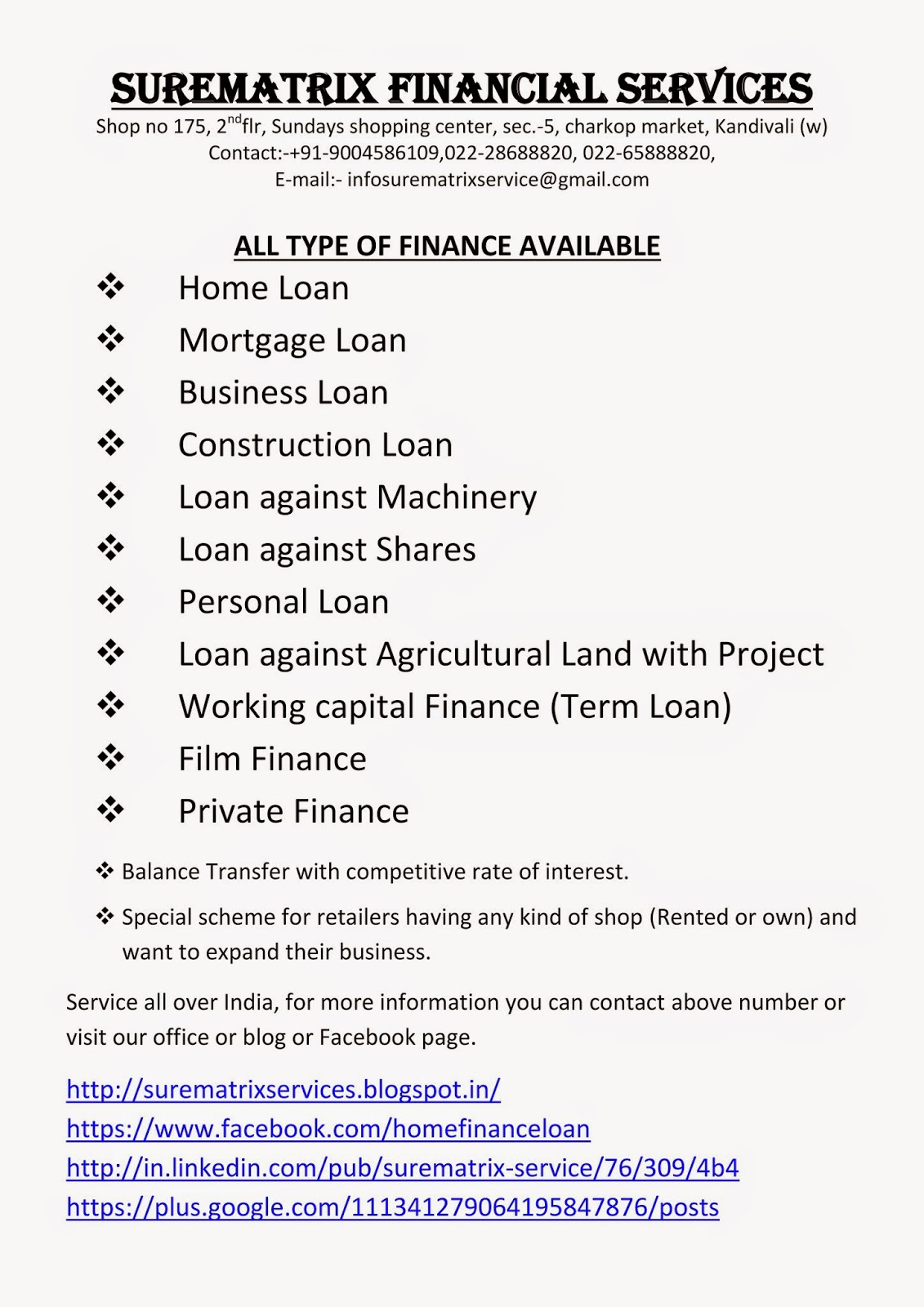 Loan Against Property Private Finance In Hyderabad