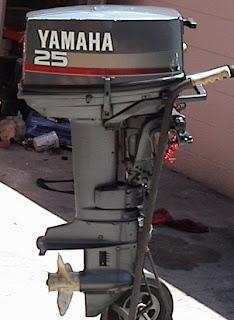 Motor Yamaha de popa 25