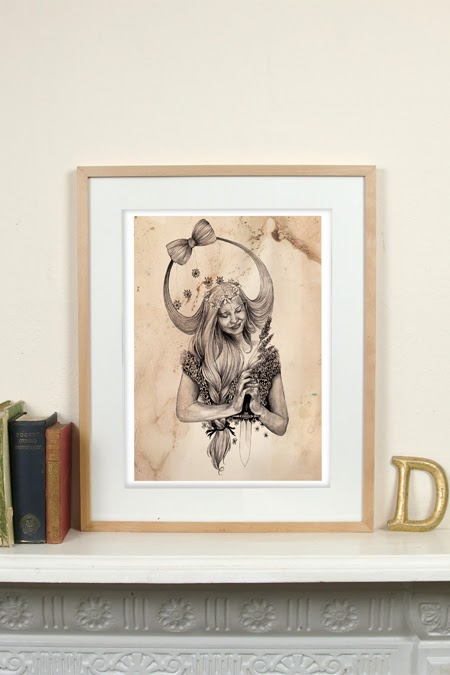 Handmade horoscope drawing - Vigo | Objets de Désir