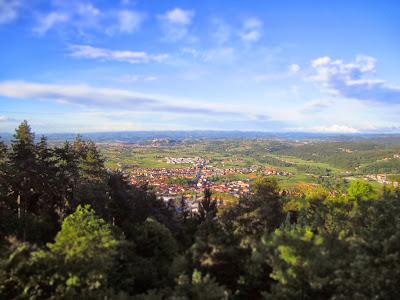 View from Monte Calvario Looking North