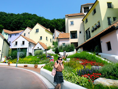 Petite France, a French cultural village in Korean countryside