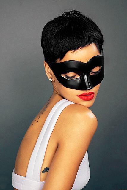 Inspiration :  Rihanna's make-up