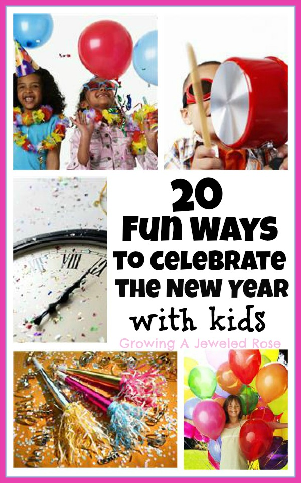 New Years Eve Activities for Kids ~ Growing A Jeweled Rose