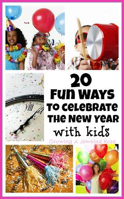 New Years Eve- Kids Activities