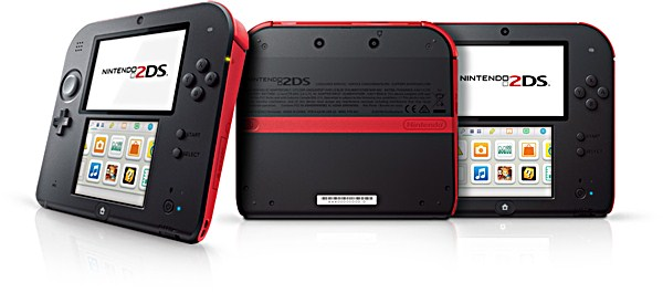 nintendo 2ds price features review red blue color