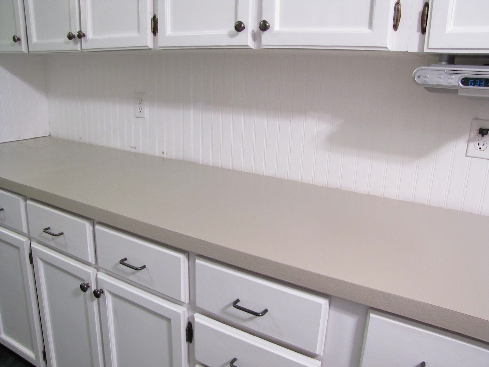 The Modest Homestead How To Paint Your Countertops To