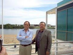 PAULO PORTAS e JOÃO PICO, na Concelhia do CDS-PP, que havia em ABRANTES