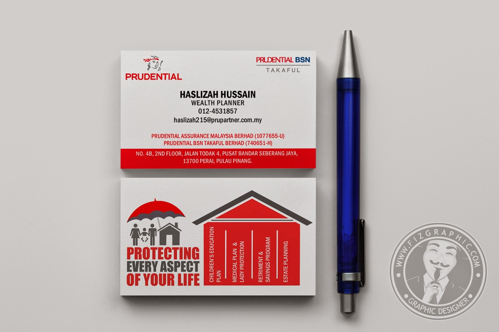 Magnificent Prudential Business Cards Ideas - Business Card Ideas ...
