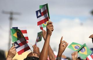 festejos do 2 de Julho, na Bahia