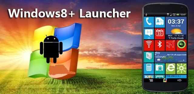Windows8 / Windows 8 +Launcher APK SCREENSHOT