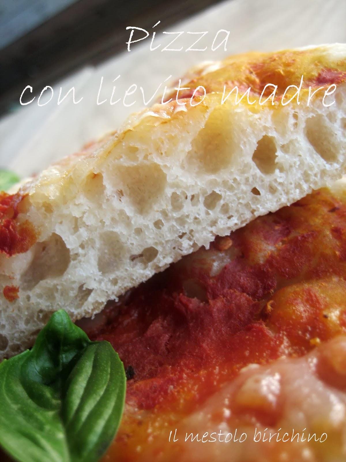 Il mestolo birichino pizza con lievito madre for Pizza con planetaria