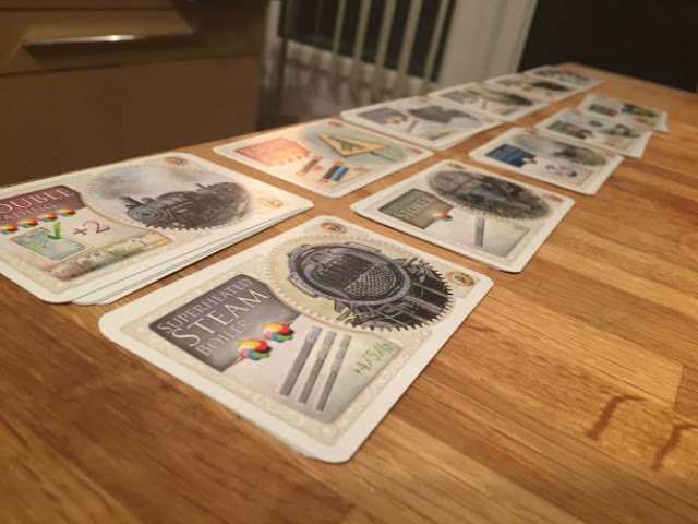 Ticket to Ride UK additional cards