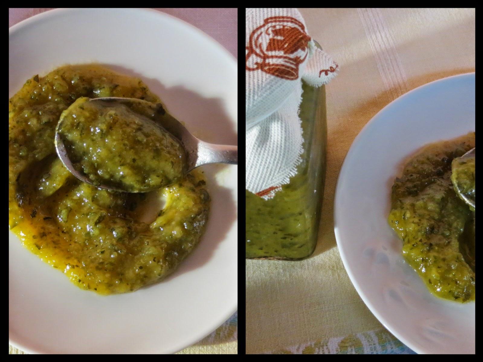 crostata rustica con marmellata di zucchine