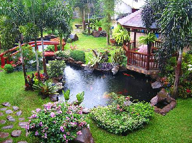 tropical garden design - Garden Design Tropical