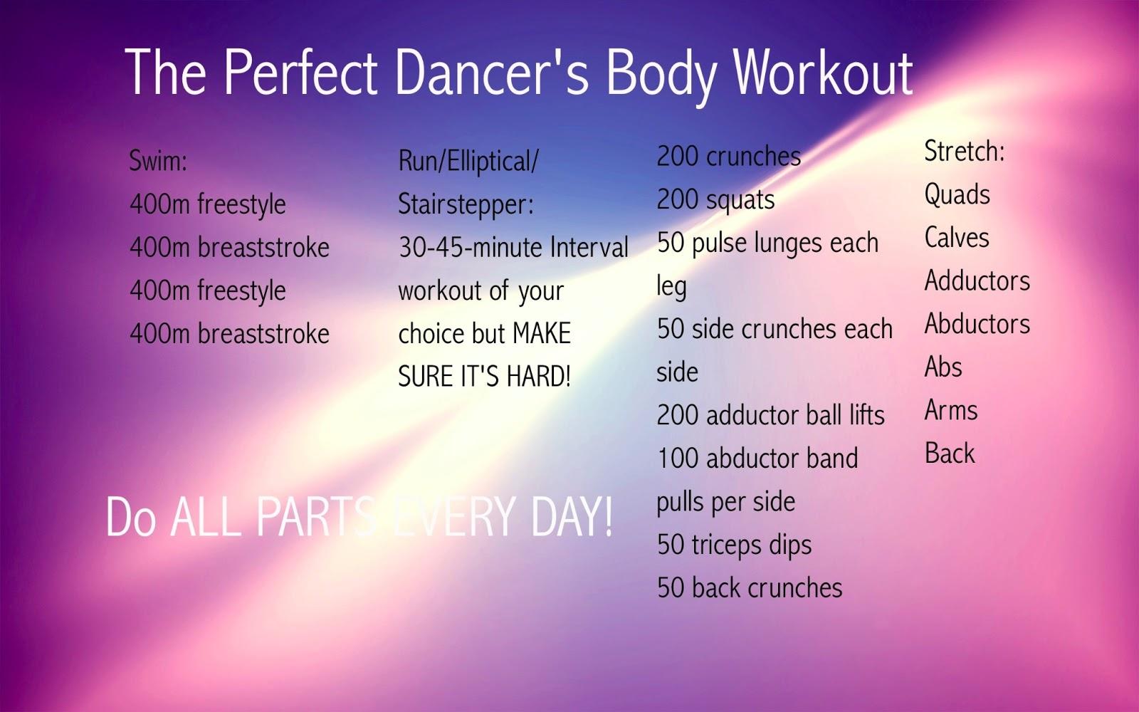 Pro-Ana International: Workouts