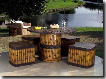Bamboo Outdoor Furniture5