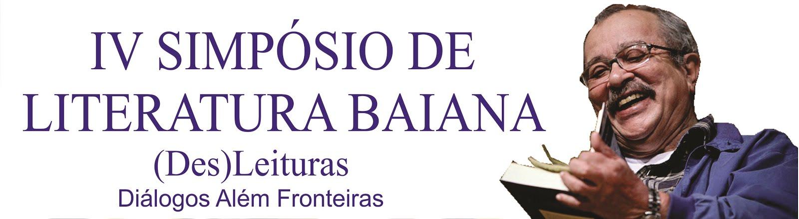 IV SIMPÓSIO DE LITERATURA BAIANA