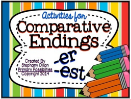 http://www.teacherspayteachers.com/Product/Comparative-Endings-er-and-est--1177555