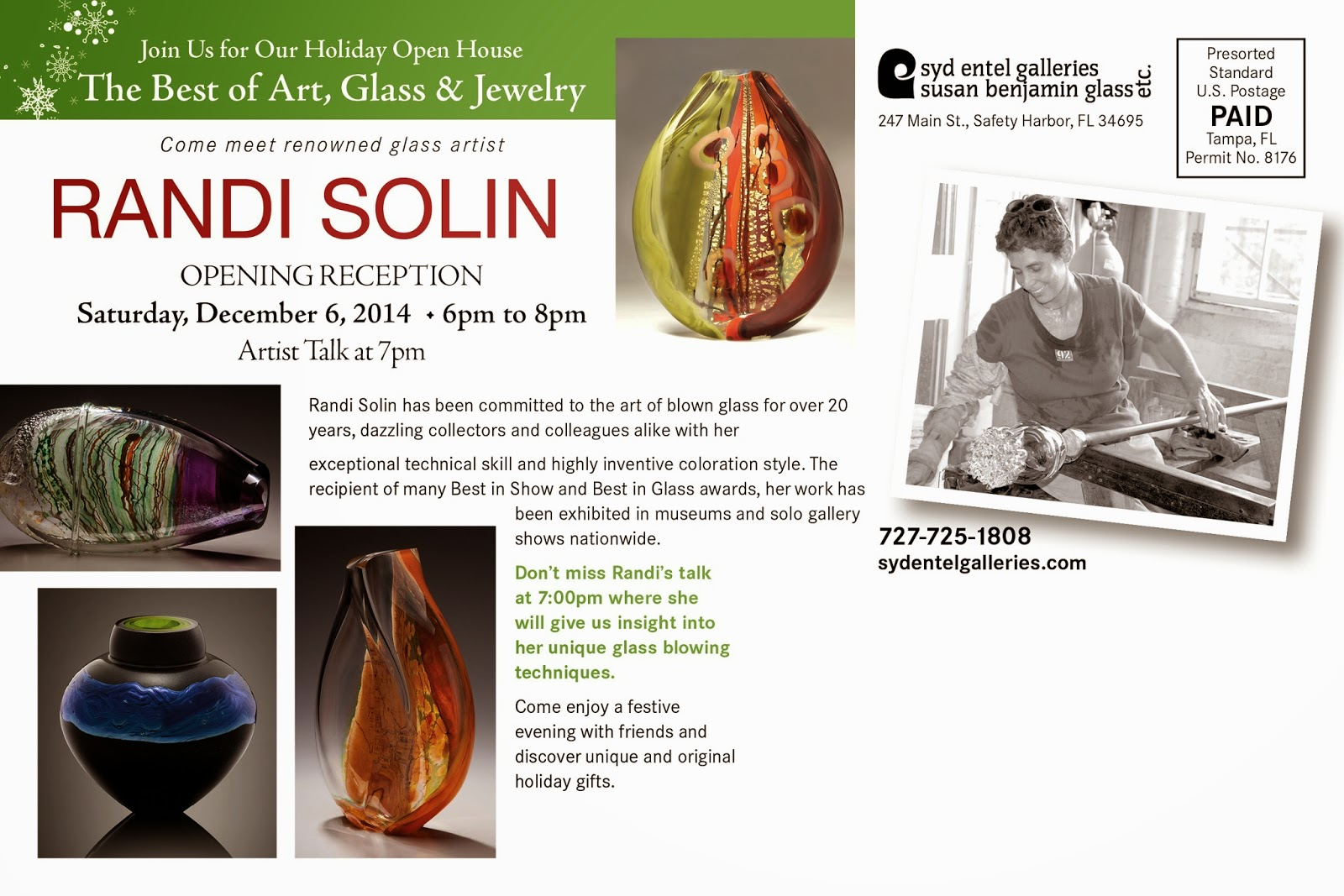 http://www.sydentelgalleries.com/events.html