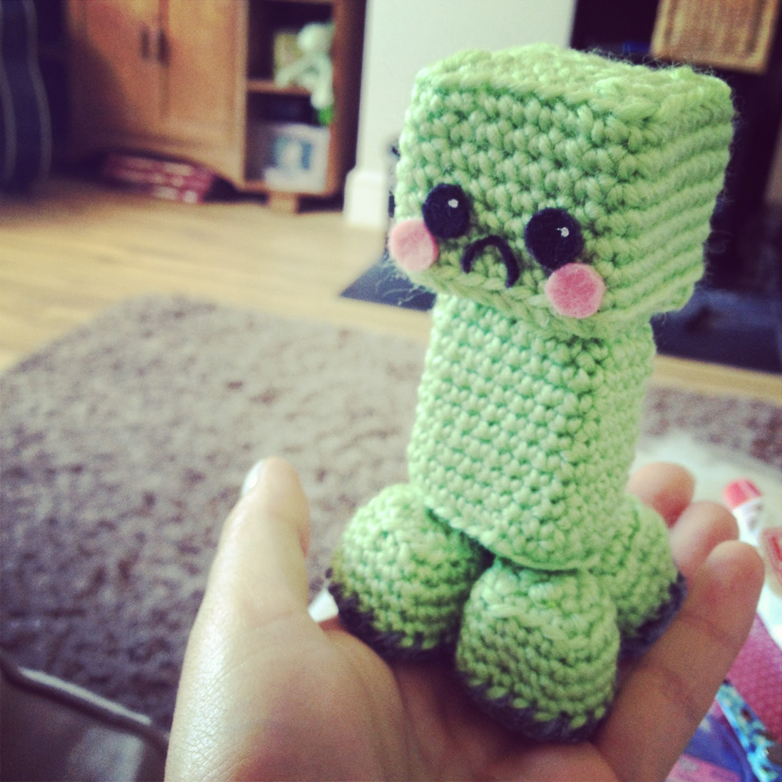 Minecraft Creeper Crochet Toy Apps Directories