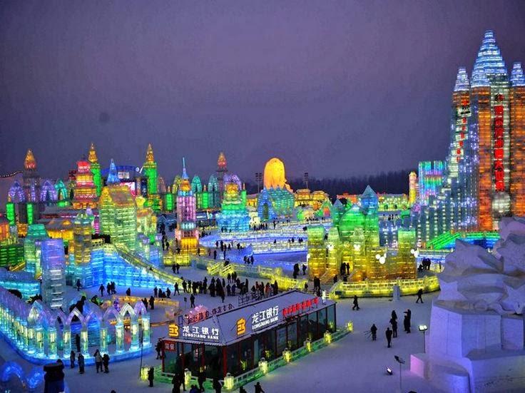 Vista de la ciudad de Harbin