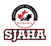 Welcome to the St. James Assiniboia Hockey Academy NEW Website. (sjaha logo )