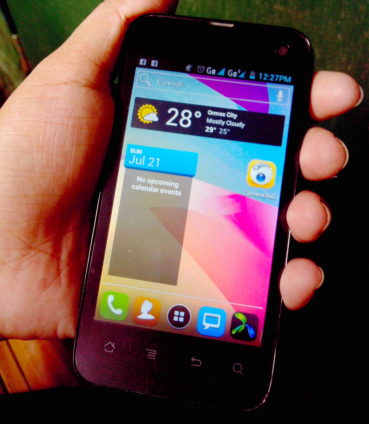 Cherry mobile flare personal review with specs price and features