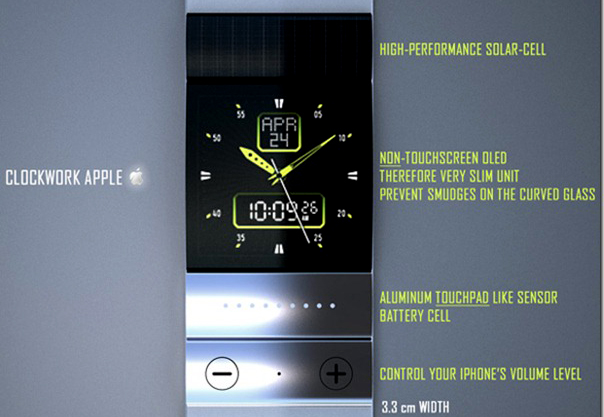 Concept of Device iWatch Apple