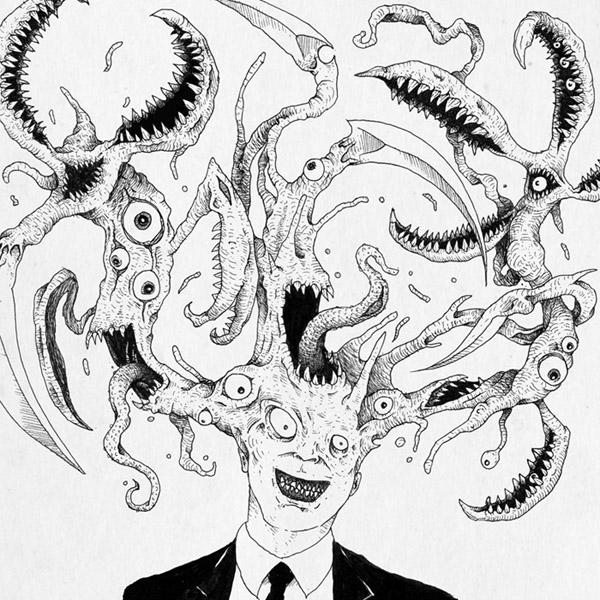 Hitoshi Iwaaki 岩明均. Manga. Ilustración